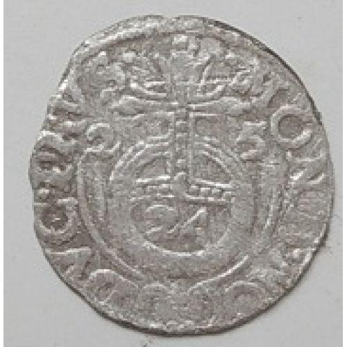 Полторак. 3 полугроша. 1,5 гроша 1625 год. Сигизмунд III Ваза Польша (2)