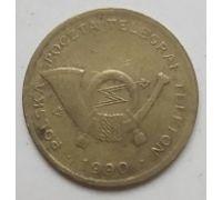 Телефонный жетон Польша 1990 год
