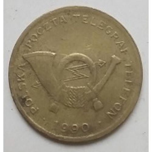 Телефонный жетон Польша. 1990 год