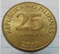 25 сентимо 2010 год Филиппины