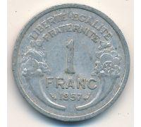 1 франк 1957 год Франция