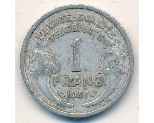1 франк 1947 год Франция