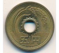 5 иен 2002 год Япония