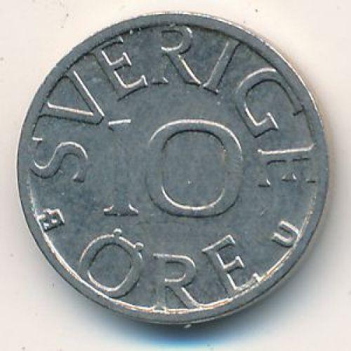 10 эре 1988 год. Швеция
