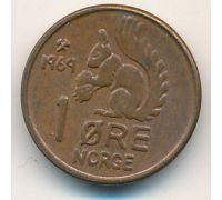 1 эре 1967 год. Норвегия