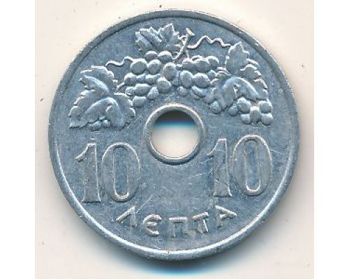 10 лепт 1954 год Греция