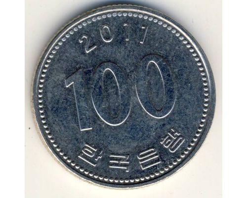 100 вон 2011 год Южная Корея