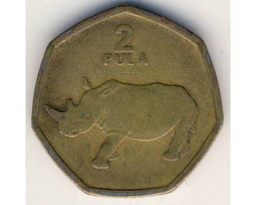2 пула 2004 год Ботсвана Носорог