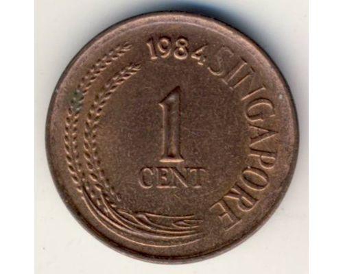 1 цент 1984 год Сингапур