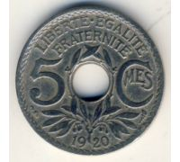 5 сентим 1920 год Франция (сантим)