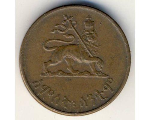 5 центов 1936 год Эфиопия