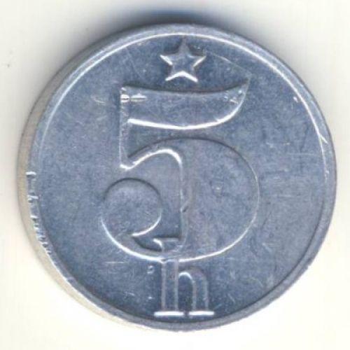 5 геллеров 1978 год. Чехословакия