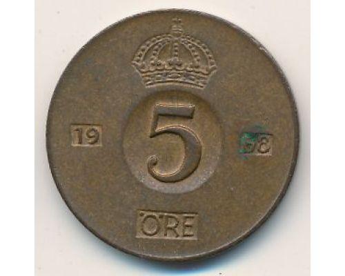 5 эре 1968 год Швеция