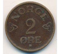 2 эре 1953 год Норвегия