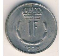 1 франк 1973 год Люксембург Жан