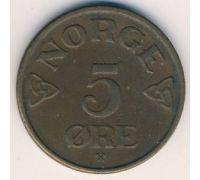5 эре 1952 год Норвегия