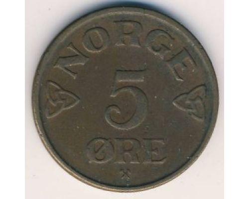5 эре 1953 год Норвегия