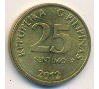 25 сентимо 2011 год Филиппины