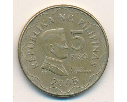 5 писо 2005 год Филиппины - песо