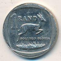 1 рэнд (ранд) 2009 год ЮАР. Антилопа