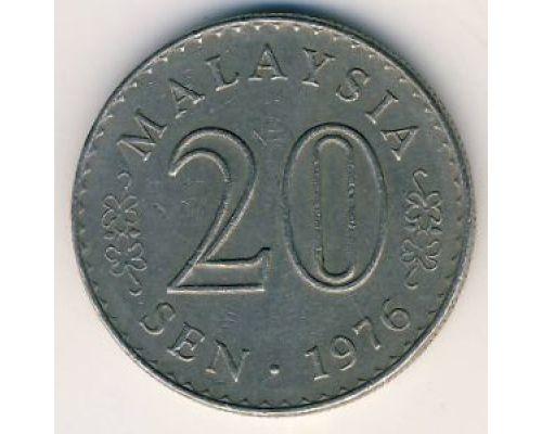 20 сен 1976 год Малайзия