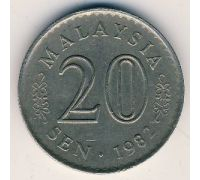 20 сен 1982 год Малайзия