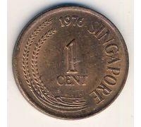 1 цент 1976 год Сингапур