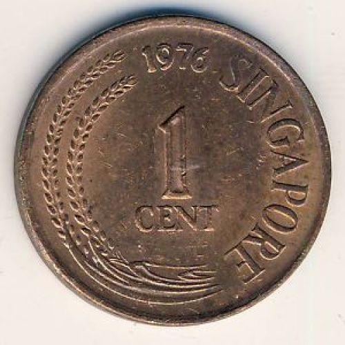 1 цент 1976 год. Сингапур