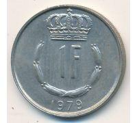 1 франк 1979 год Люксембург Жан