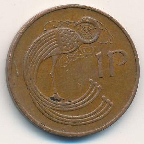 1 пенни 1988 год. Ирландия