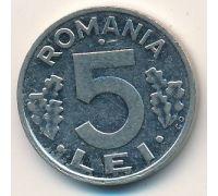 5 лей 1992 год. Румыния