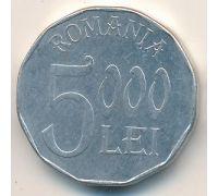 5000 лей 2002 год Румыния