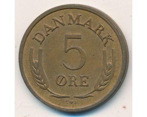 5 эре 1970 года Дания