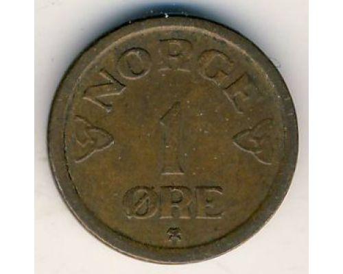 1 эре 1957 год. Норвегия