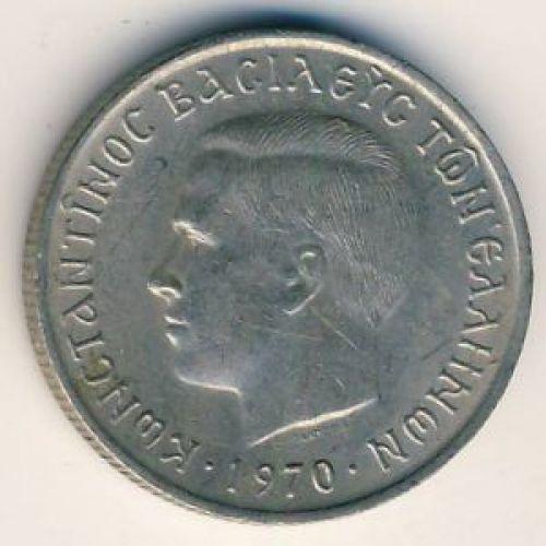 50 лепт 1970 год. Греция