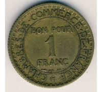 1 франк 1921 год Франция