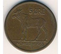 5 эре 1965 год Норвегия Лось
