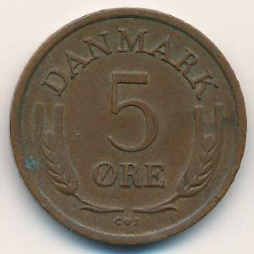 5 эре 1965 года. Дания