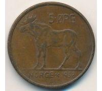 5 эре 1958 год Норвегия Лось