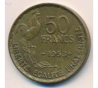 50 франков 1953 год Франция Петух