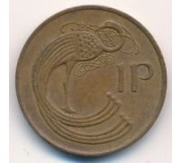1 пенни 1980 год Ирландия