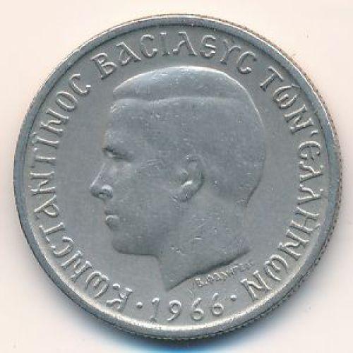 1 драхма 1966 год. Греция