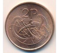 2 пенса 2000 год Ирландия
