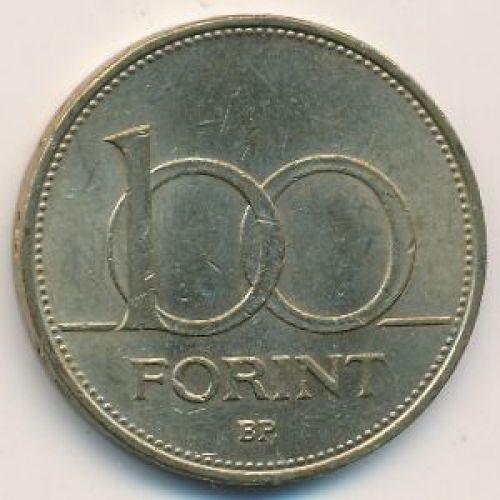 100 форинтов 1995 год. Венгрия