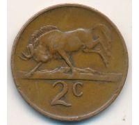 2 цента 1974 год ЮАР