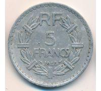 5 франков 1946 год Франция