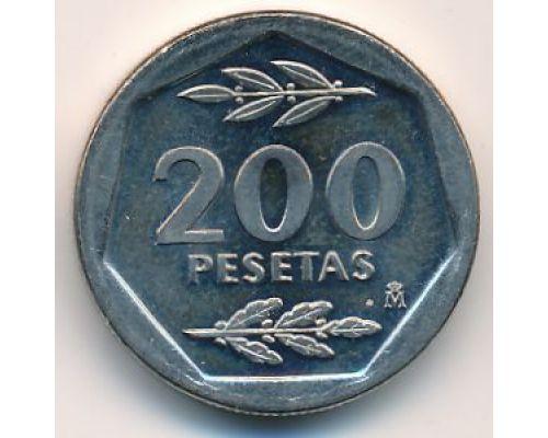 200 песет 1986 год Испания