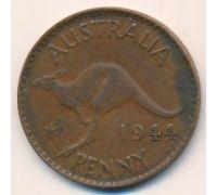 1 пенни 1944 год Австралия (p) Perth