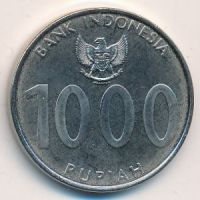 1000 рупий 2010 год Индонезия Angklung
