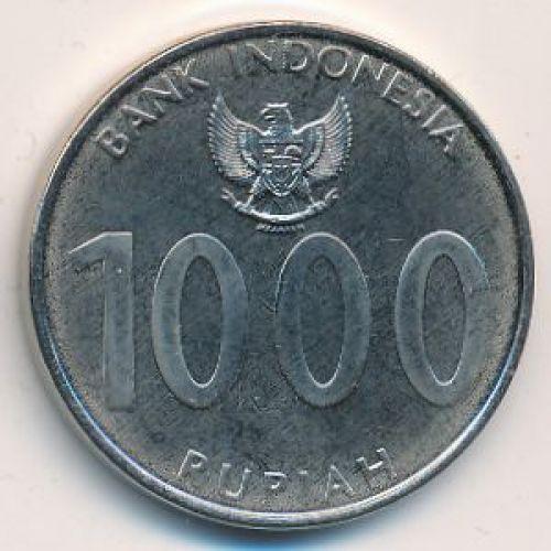 1000 рупий 2010 год Индонезия. Angklung